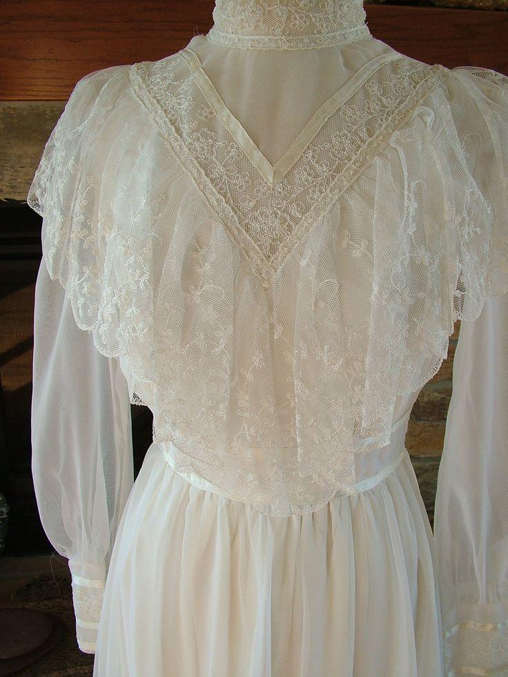 Vintage Gunne Sax Wedding Dress Bridal Gown Jessica Mc