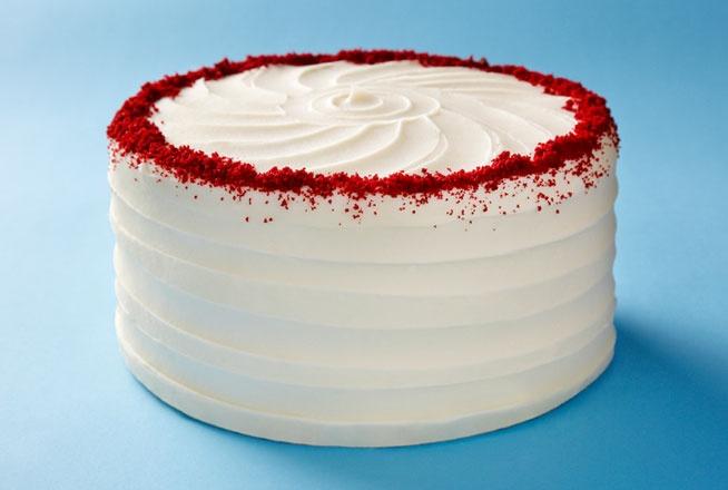 Red Velvet Cake - such a decadent surprise inside