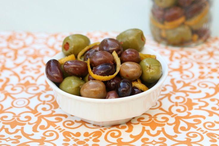 Florida Citrus Marinated Olives | Snacks | Pinterest