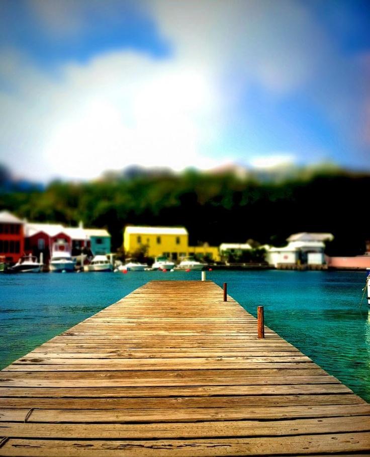 Docking at Bermuda
