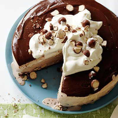 Malted Milk Ball Ice Cream Pie....maybe for Super Bowl?