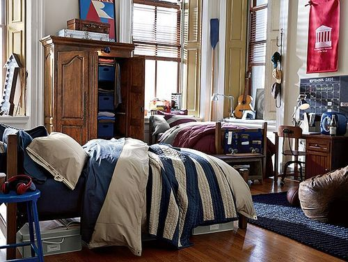 Guys Dorm Room College Dorm Room Pinterest