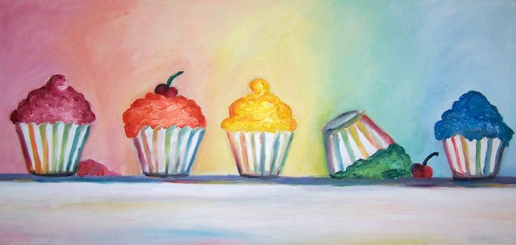 cupcakes and pop art