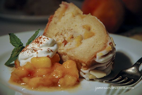 ... with an orange Grand Marnier glaze, and finished with an almond icing