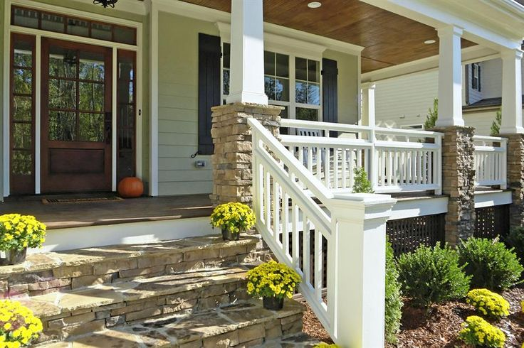 stone porch columns google search home pinterest