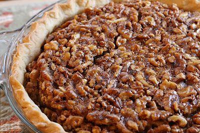 Maple Walnut Pie | Edibles | Pinterest