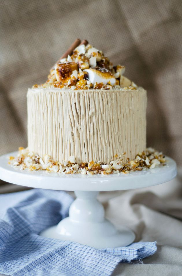 Spis: Sweet Potato Cake with Brown Sugar Whipped Cream Cheese Frosting ...
