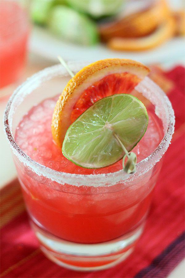 Blood Orange Margarita from Creative Culinary. http://punchfork.com ...