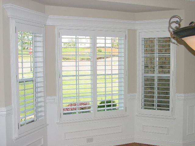 Plantation Shutters For Kitchen Nook For The Home