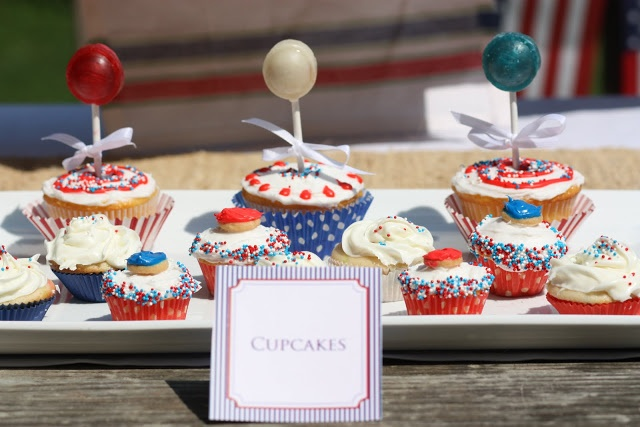 july 4th cupcakes designs