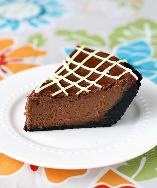 Chocolate Pumpkin Pie | Sweet Tooth | Pinterest