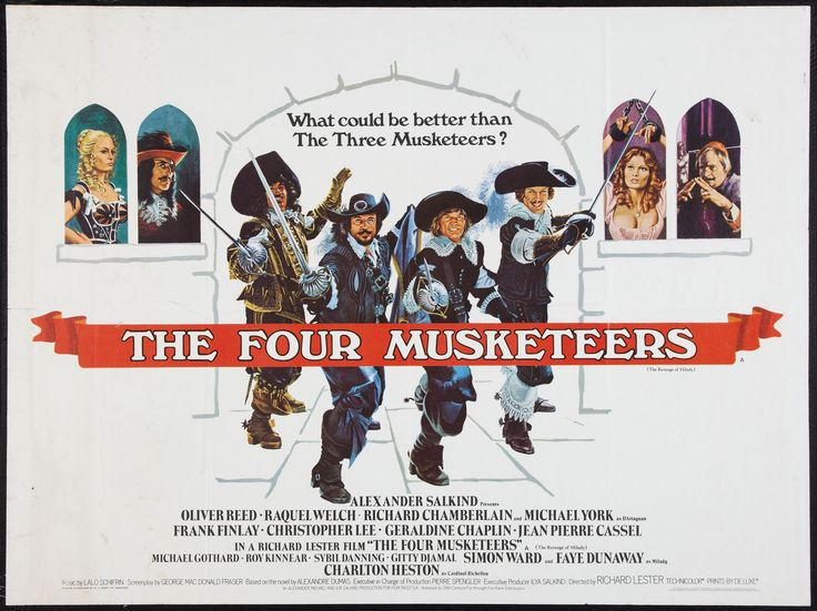 The Four Musketeers   1974 The Four Musketeers 1974