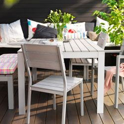 Built with a rustproof aluminum frame that is both sturdy and lightweight. FALSTER outdoor furniture.