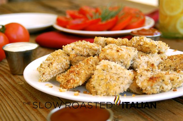 Healthy Homestyle Baked Chicken Nuggets - The beauty of this recipe is ...