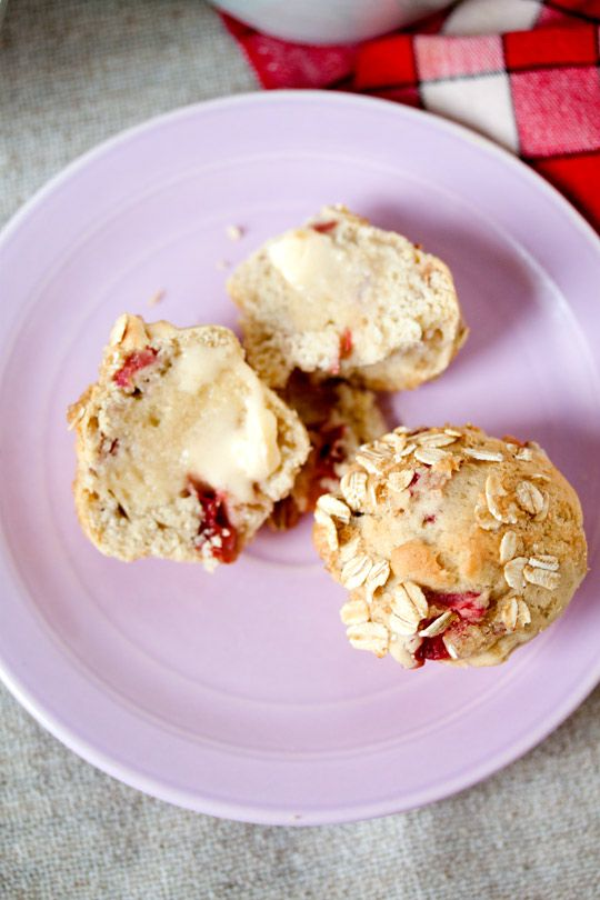 Strawberry Rhubarb Muffins from Vegan Desserts: Sumptuous Sweets for ...