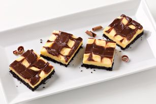 Black & White Pudding Squares | Jell-O Recipes