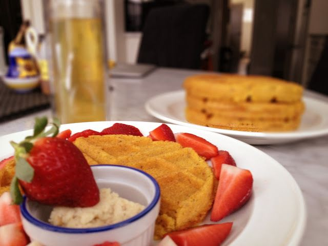 The Healthy Maven: Gluten-Free Corn Waffles