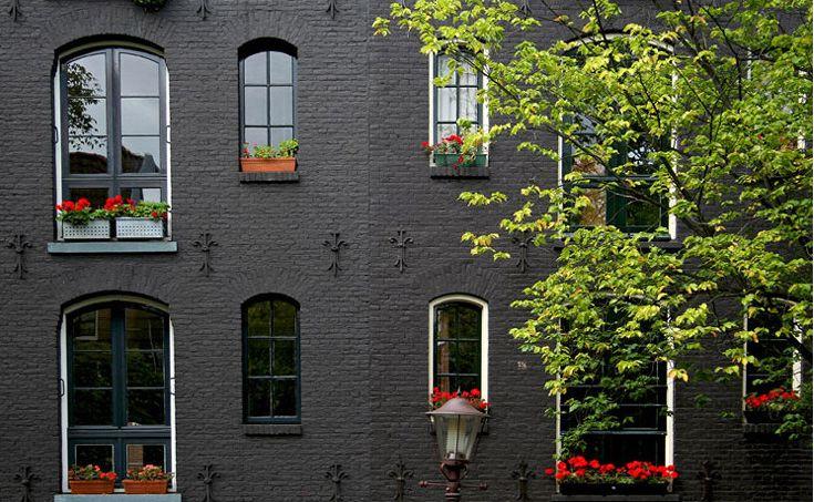 painted brick exterior pinterest