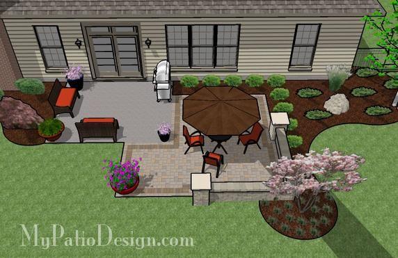 diy backyard patio outdoor living pinterest