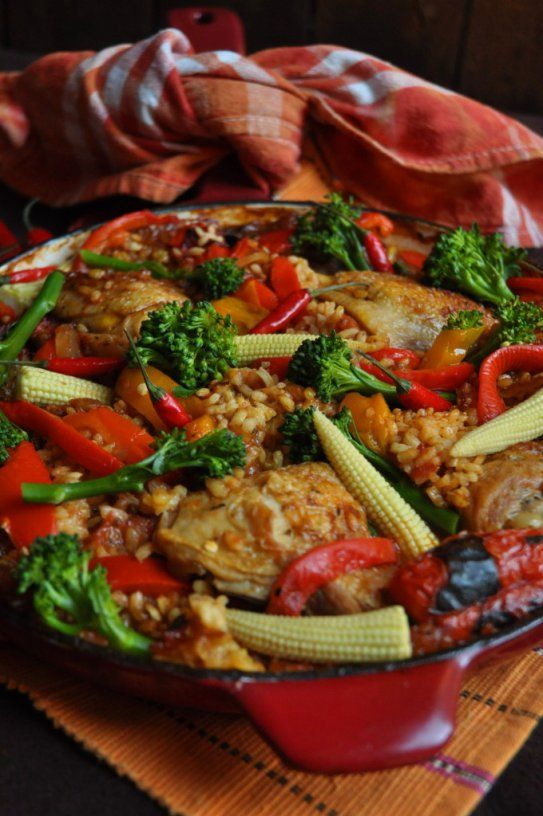 Spanish Chicken and Rice | Foodie | Pinterest