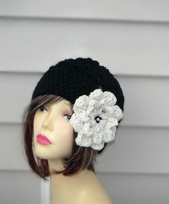 Womens Hats Hair Accessories Crochet Hat Crochet Beanie Winter Hat Wo ...