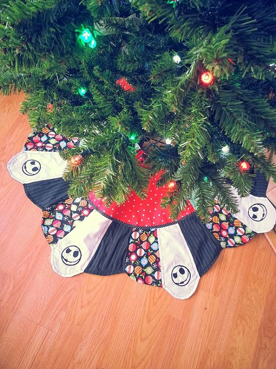 Nightmare Before Christmas - Jack Skellington Patchwork Tree Skirt ...