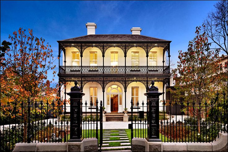 New Orleans Victorian Home Dream Home Pinterest