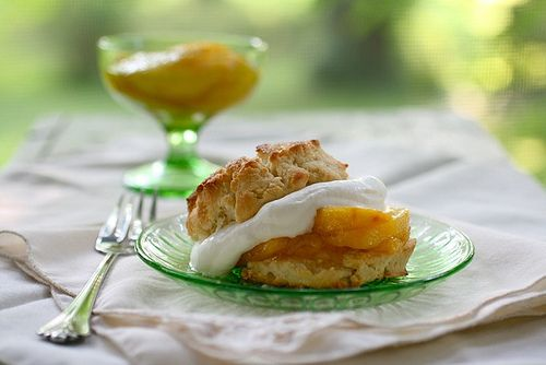 Peach Shortcakes | Foods: Sweet | Pinterest