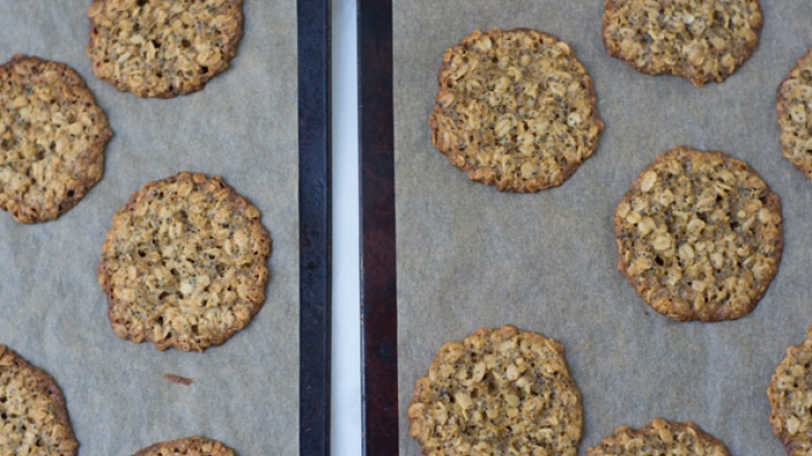 Thinnest Oatmeal Cookies | My Recipes | Pinterest