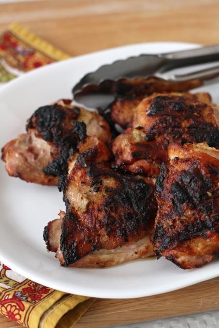 Yogurt Marinated Grilled Chicken (Easy & Entertaining)