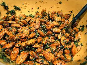 Saleena: Savory Roasted Almonds | Favorite Recipes | Pinterest