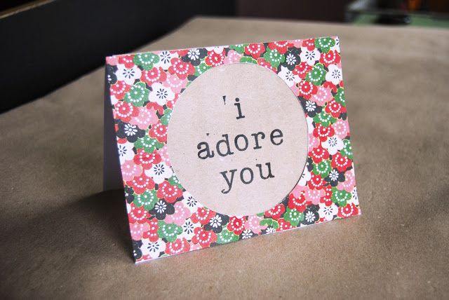 Valentine Cards with Origami Paper