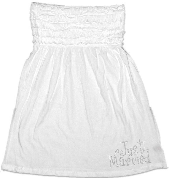 just married bathing suit cover up for the bride bathing suit