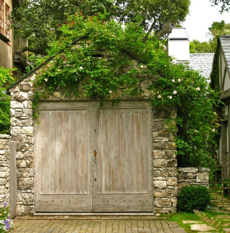 Stone garden shed houses doors windows to intice you for Stone garden shed designs