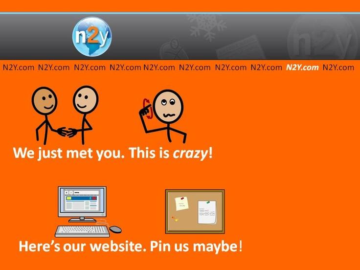 N2Y - Pin us Maybe   n2y   Pinterest