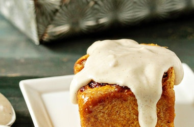 Pumpkin Cinnamon Rolls with Maple Cream Cheese Frosting — Punchfork