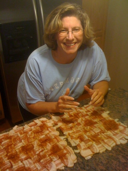 Bacon Explosion. There are no words. | Books Worth Reading | Pinterest
