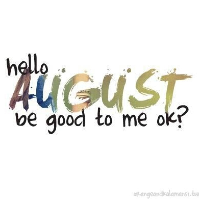 August Is What Month
