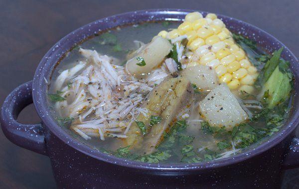Colombian Sancocho (Chicken Soup)