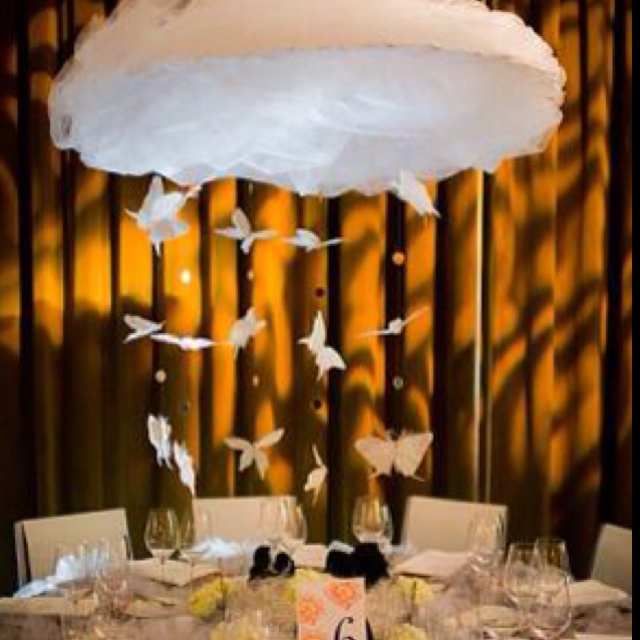 cloud centerpiece love pinterest