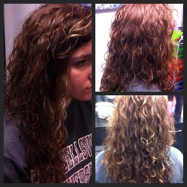loose spiral perm on long hair | Cocoa's Collectables | Pinterest