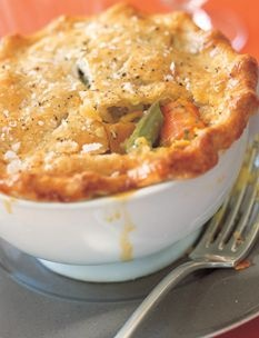 Vegetable Pot Pie | Veggies | Pinterest