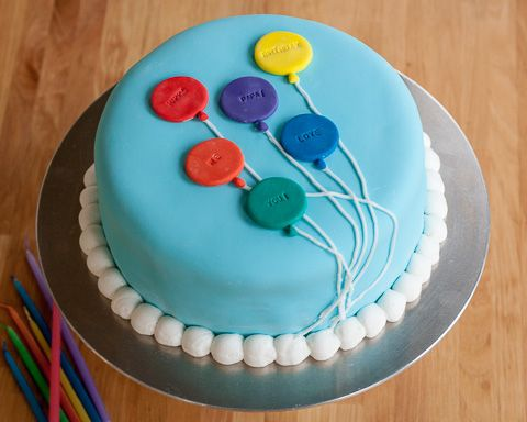 Balloons For Cake Decoration : Balloon Cake Flour Arrangements Cake Decorating ...