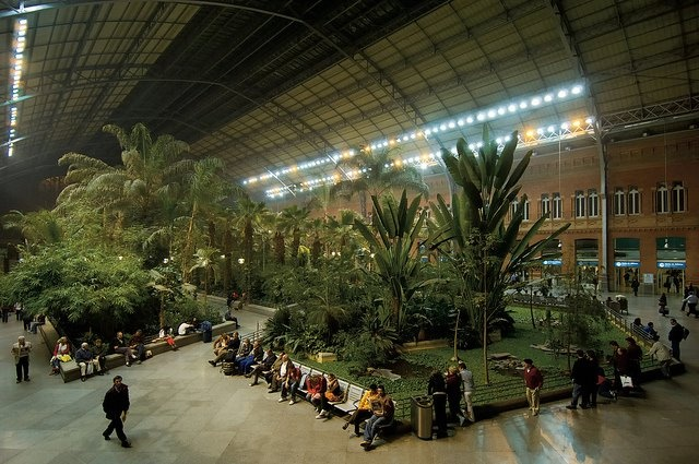 europe travel guide spain madrid train station atocha