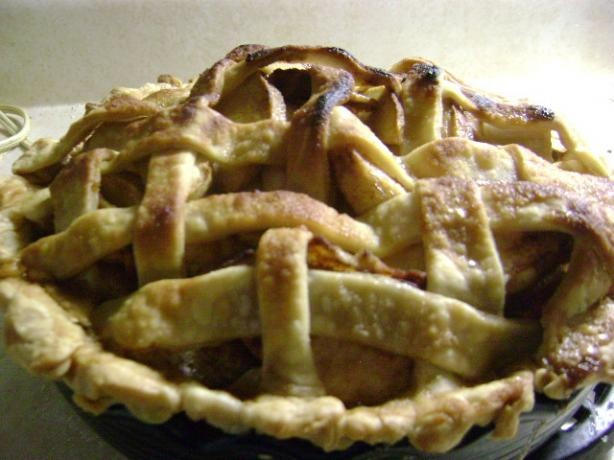 Grandma Ople's Apple Pie - Carmel Surprise. Try this one!