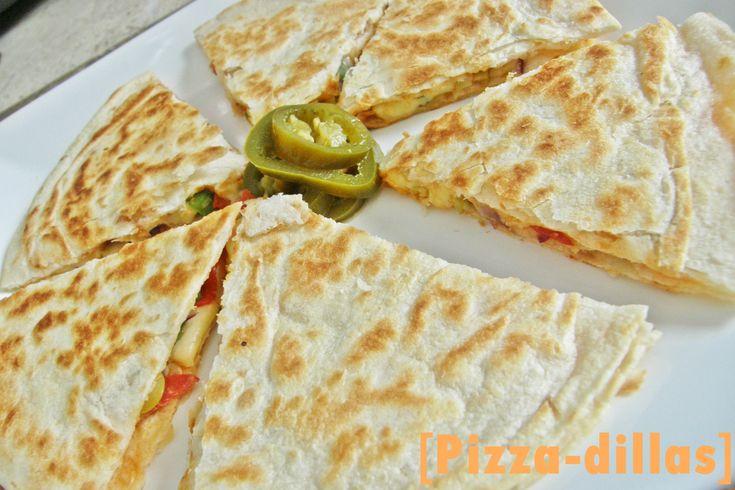 Pizzadilla = quesadilla de pizza | Recipe