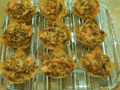 Cooking for Kicks: Cheeseburger Won Tons, Round 2