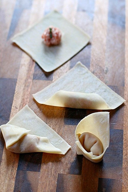 Sichuan Red Oil Wontons (红油抄手)