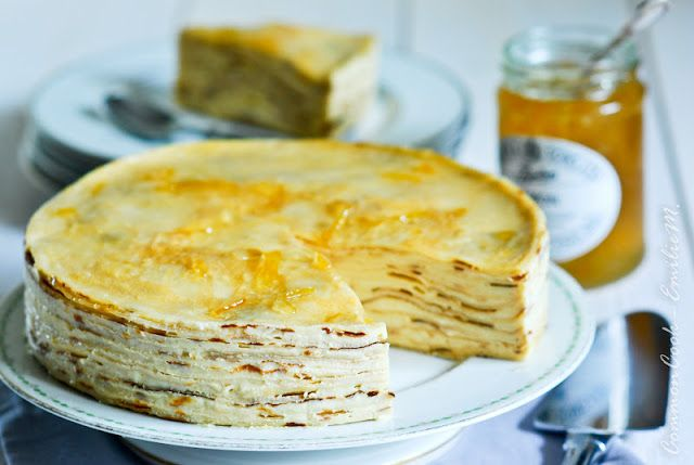 Gateau De Crepes Recipe — Dishmaps