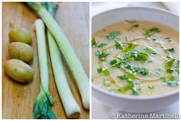 Potato Leek Soup - Perfection. I used coconut oil instead of butter ...